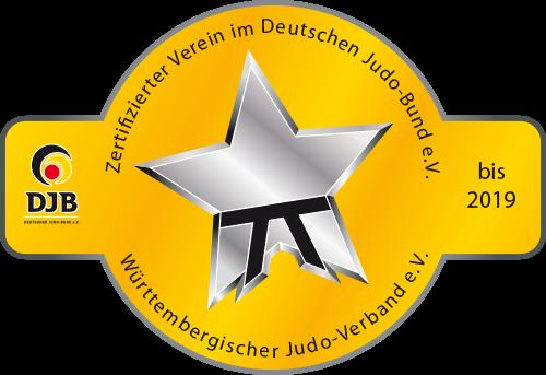 Zertifizierter Verein im Deutschen Judo-Bund e.V/Württembergischer Judo-Verband e.V.